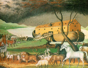 Noahs Ark by Edward Hicks (1780-1849)