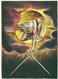 The Ancient of Days - William Blake, Fitzwilliam Museum, Cambridge