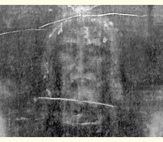 Part of the Turin shroud